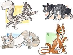 Cat adoptables | CLOSED by DaisiesAdopts