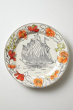 Molly Hatch: New Pinta Plates at Anthropologie