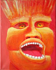 Barfite I   George Pearlman, Monster Series #monster #painting