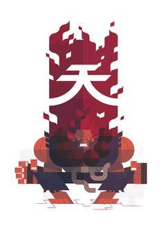 Street Fighter fan art