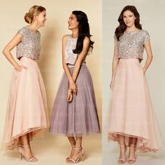 Sequin top and tulle skirt - so girly!!!                                                                                                                                                      More