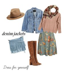 """""""Denim 💙💙💙"""" by jurgat ❤ liked on Polyvore featuring Denim & Supply by Ralph Lauren, Y/Project, Gianvito Rossi, rag & bone, Ryan Roche, Rebecca Minkoff and Charlotte Russe"""