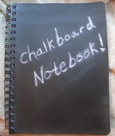 Chalkboard Notebook Blank Idea Journal Portable Chalk surface Back to School Desk Accessory Notebook Erasable Tablet notebook Decorative by Pinoodles on Etsy https://www.etsy.com/listing/158090399/chalkboard-notebook-blank-idea-journal