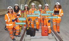 Britain has the lowest proportion of female engineers in Europe, at just eight per cent. But there's one project that's been groundbreaking… both literally and figuratively. Engineering Quotes, Construction Birthday Parties, New Mums, Great Women, Oil And Gas, Engineers, 21st Century, Role Models, Uni