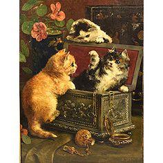 Charles Van Den Eycken  3 Koty w pudełku