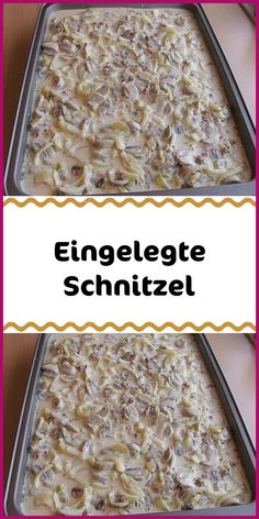 Eingelegte Schnitzel - Famous Last Words Easy Desserts, Dessert Recipes, Pork Schnitzel, Stuffed Mushrooms, Stuffed Peppers, Party Buffet, Bratwurst, Bacon, Food Porn