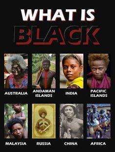 What is black / Noirs autochtones dans le monde : Australie / Iles Andaman / Inde / Iles du Pacifique / Malaisie / Russie / Chine / Afrique