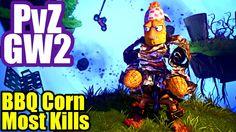 BBQ CORN MOST KILLS - Plants Vs Zombies Garden Warfare 2 Multiplayer
