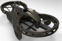 Aero X hover bike