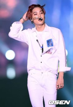 Kai - 151010 2015 EXO-Love Concert in Dome Credit: OSEN.