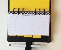 planner filofax monthly planner calendar FREE Printable download