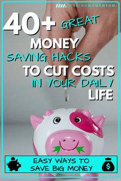 Are you looking for the best ways to save money? Here are money saving hacks and ideas on how to save money each month in your everyday life. Ways To Save Money, Money Tips, Money Saving Tips, Money Hacks, Frugal Living Tips, Frugal Tips, Money Saving Challenge, Managing Your Money, Budgeting Tips