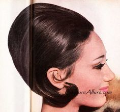 The 1960s took hair sculpting to a whole other level. 1965