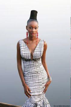 Mali: Mariah Bocoum Keita Releases 'Le Bazin Autrement' With Top Model Annarosa | FashionGHANA.com (100% African Fashion)