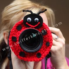 Hey, I found this really awesome Etsy listing at https://www.etsy.com/listing/114210310/sale-camera-lens-buddy-crochet-camera