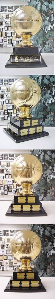 Other Basketball 2023: 2 Tier Large Fantasy Basketball Perpetual Award 20 Years Top Of The Line Gold -> BUY IT NOW ONLY: $190.25 on eBay!