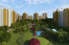 Sikka Kaamya Greens Noida Provides a fresh environments where everybody can live with peace and safe