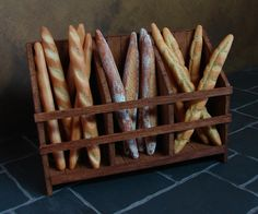 ミニチュアパン, Dollhouses bread, fimo bread