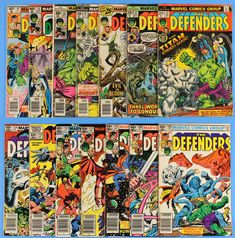 The Defenders, Lot of 14 Marvel Comics, Issues #12,27,37,40,52,75,85,108-114: $9.95 (0 Bids) End Date: Saturday Apr-14-2018 17:45:01 PDT…