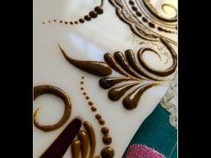 how to apply arabic mehndi design