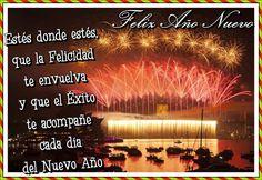 Feliz Año Nuevo, Que donde estés la Felicidad te envuelva - Imagenes y Carteles