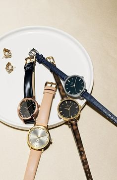 Beautiful kate spade watches http://rstyle.me/n/qid2rnyg6
