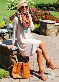 Large Multi-Colored Plaid Scarf | Monday Dress Boutique
