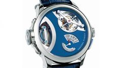 Greubel Forsey's greatest technical challenge with the Art Piece 1 was to devise a magnification mechanism for Willard Wigan's miniature sculptures.