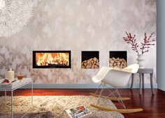 Closed fireplaces | Fireplaces-Stoves | 97x74S | Austroflamm. Check it out on Architonic