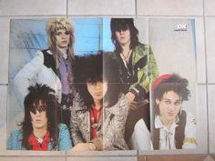 HANOI ROCKS poster Finland Finnish OK Magazine 1980´s RARE   eBay