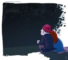 Wilf and Donna. She has no clue why he sits outside, watching the stars every night.