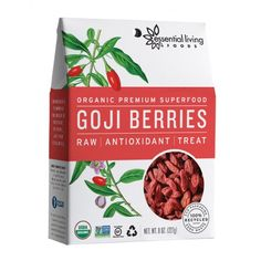 With a potent combination of protein and super-nutrients (and a long history as a traditional Chinese longevity food) it's no wonder these tasty little morsels have become the world's most popular super berry. Now you can get them in our beautiful 100% recycled AND recyclable packaging!