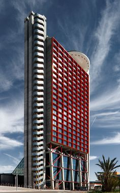The Hesperia Tower is a hotel situated in the district of Bellvitge in L'Hospitalet de Llobregat (suburb of Barcelona), Catalonia, Spain. It was designed by the British architect Richard Rogers together with Luis Alonso and Sergi Balaguer.