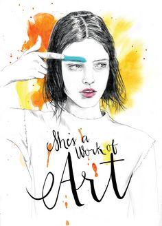 Tracy Turnbull, ilustraciones de moda con carácter