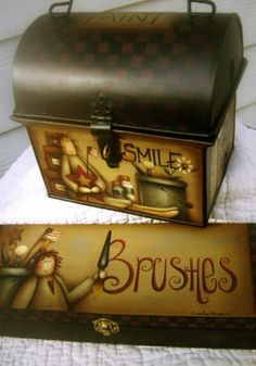 | The Paint Box & Brush Box Packet by Maxine Thomas