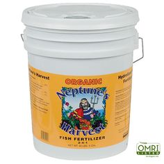 Hydrolyzed Fish Fertilizer Five-Gallon Pail  2-4-1