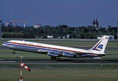 Air Berlin, Inc. (Air Berlin USA) Erstflug am 28. April 1979 mit einer Boeing 707-331 von Berlin nach Palma de Mallorca © airberlin