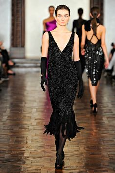 Ralph Lauren Fall 2012 RTW - Runway Photos - Fashion Week - Runway, Fashion Shows and Collections - Vogue