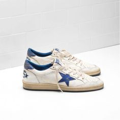 Nuovi 2017 Scarpe Golden Goose Uomo GGDB BALL STAR Sneakers GGDB GCOMS592.A1 Online Outlet |2017 Golden Goose Uomo | GGDB Ball Star