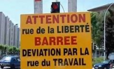 Les panneaux routiers les plus absurdes