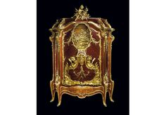 FRANÇOIS LINKE (1855-1946) - LÉON MESSAGÉ (1842-1901) <br/> <br/> <br/>BAHUT MARINE <br/> <br/>  <br/>THE MASTERPIECE OF  <br/>FRENCH BELLE ÉPOQUE CABINETRY  <br/> <br/> <br/>Exhibition model created especially for the  <br/>1900 Universal Exhibition at the Grand Palais in Paris. <br/> <br/>
