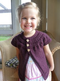 Baby Cardigan - goes up to size 5T!