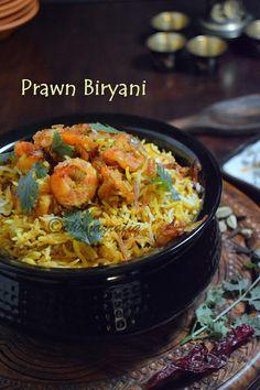 LOVE TO COOK: Prawn Biryani
