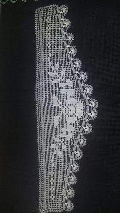 Crochet Lace Edging, Filet Crochet, Crochet Shawl, Yarn Crafts, Diy And Crafts, Baby Knitting Patterns, Crochet Patterns, Monks Cloth, Crochet Curtains