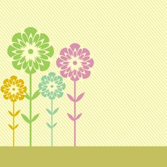 Meadow Card - Vector Graphic by DryIcons