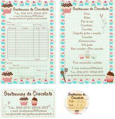 Logo Doce, Cartoon Chef, Cake Logo, Paper Cake, Coreldraw, Silhouette Design, Sticker Design, Banner, Free Printables