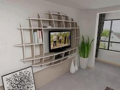 Modern Shelf Design Idea
