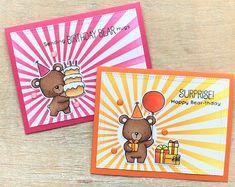 LindaCrea: Birthday Bear #3