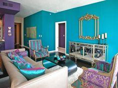 peacock+decorating+ideas | HGTV HGTVRemodels HGTVGardens HGTV's FrontDoor DIYNetwork HGTV ...