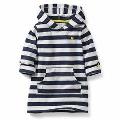 3/4-Sleeve Hooded Tunic